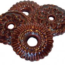 Цветочек в шоколадной глазури