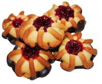 Печенье сдобное глазированное
